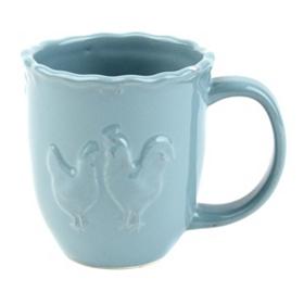 Blue Rooster Mug