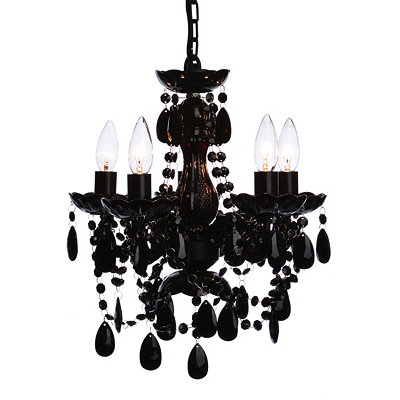 Black Gypsy Chandelier