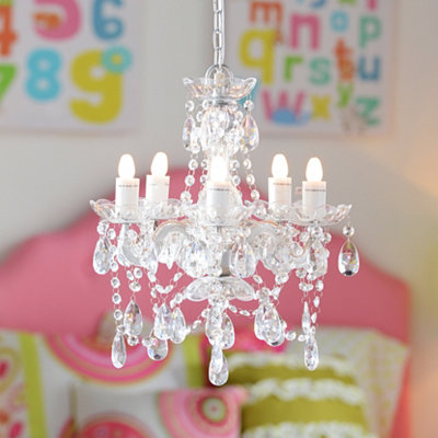 Clear Gypsy Chandelier