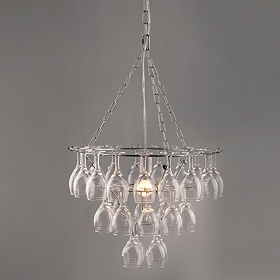 Wine Glass Pendant Chandelier