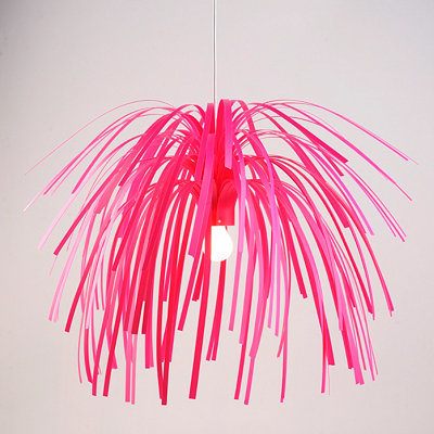 Pink Fireworks Pendant Lamp