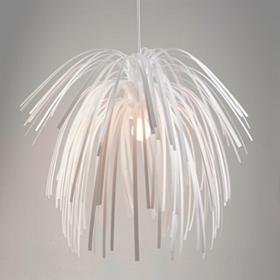 White Fireworks Pendant Lamp