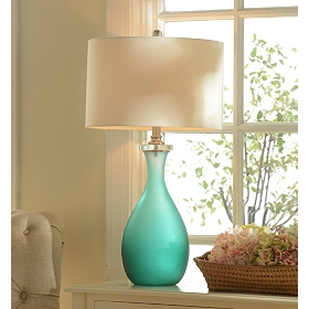 Sea Glass Table Lamp