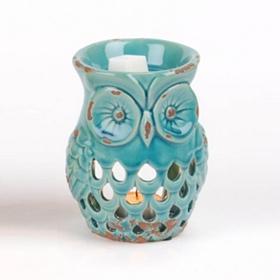 Turquoise Owl Wax Warmer