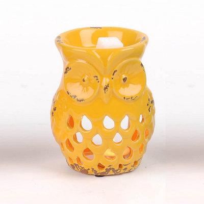 Yellow Owl Wax Warmer