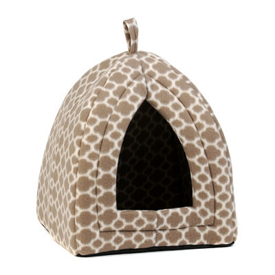 Quatrefoil Collapsible Pet Hut
