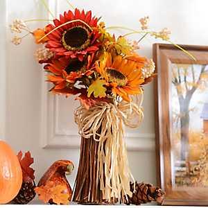 Harvest Sunflower Stack