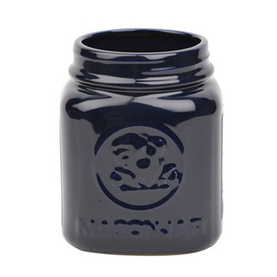 Blue Rooster Utensil Holder