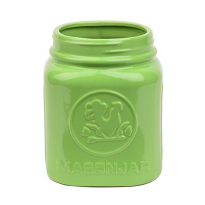 Green Rooster Utensil Holder