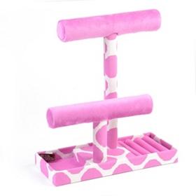 Pink Polka Dot Jewelry Organizer