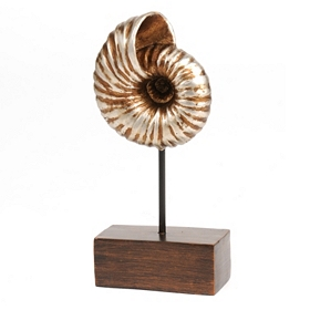 Bronze Conch Shell Statue