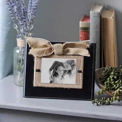 Rustic Black Picture Frame, 3x5