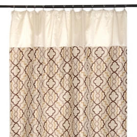 Marrakech Tan Shower Curtain