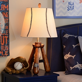 Baseball Bat Table Lamp