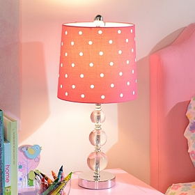 Red Polka Dot Table Lamp