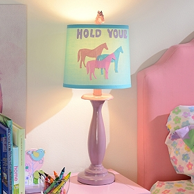 Hold Your Horses Table Lamp
