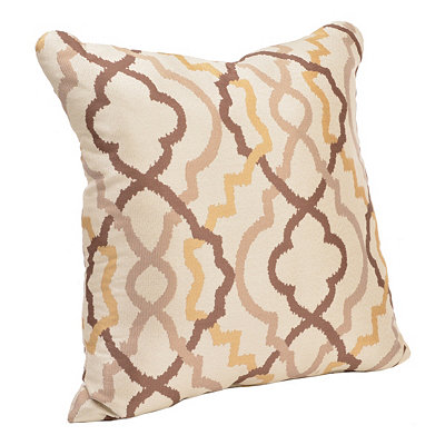 Marrakech Brown and Tan Pillow