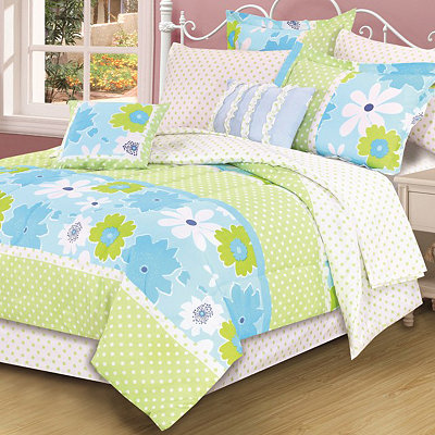 Olivia Full Comforter Set, 9-pc.