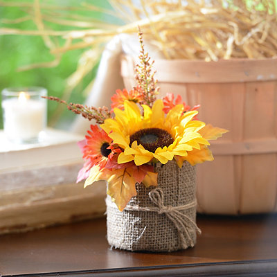 Yellow Sunflower Floral Arrangement