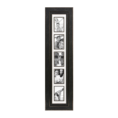 Distressed Black Collage Frame