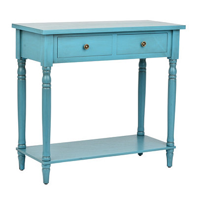 Classic Blue Console Table