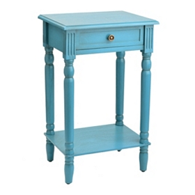 Classic Blue Side Table