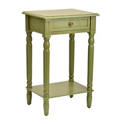 Classic Green Side Table