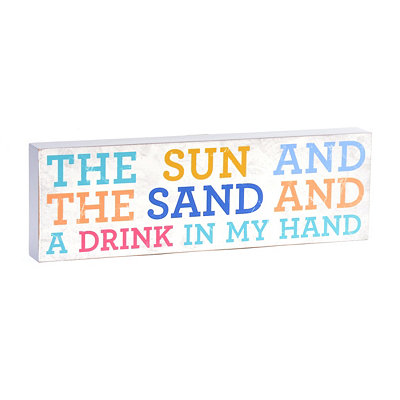 The Sun & the Sand Wall Plaque