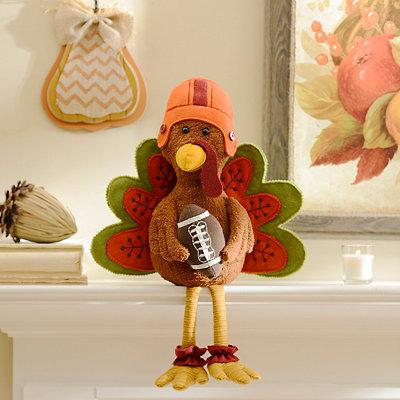 Tacklin' Turkey Table Sitter
