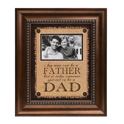 Dad Sentiment Picture Frame 4x6