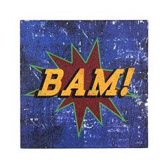 Bam! Boxtop Plaque