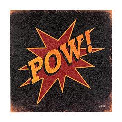Pow! Boxtop Plaque