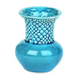 Turquoise Ceramic Mini Vase