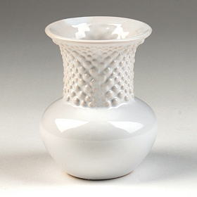 White Ceramic Mini Vase