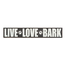 Live, Love, Bark Plaque
