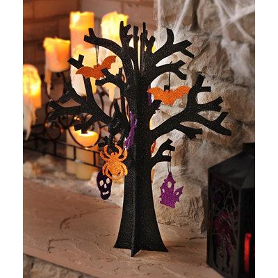 Halloween Glitter Tree