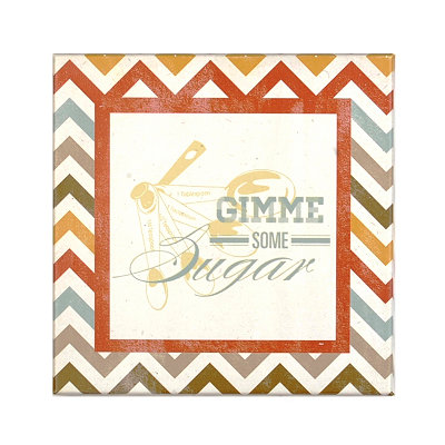 Gimme Some Sugar Canvas Plaque