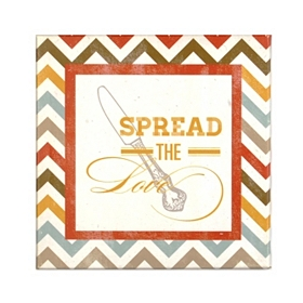 Spread the Love Canvas Art Print