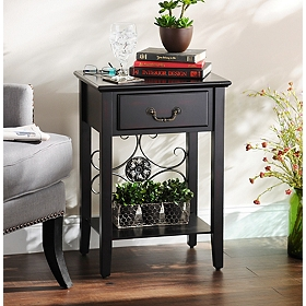 Addison Black Accent Table