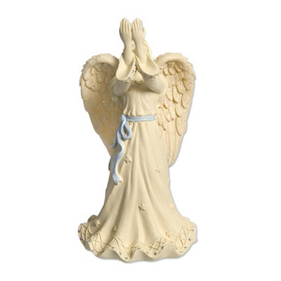 Cream Open Hands Angel Figurine