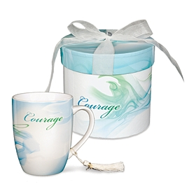 Teal Courage Mug & Gift Box