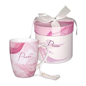 Pink Peace Mug & Gift Box