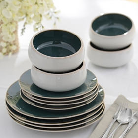 Urban Bistro 12-pc. Dinnerware Set