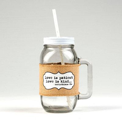 Love Is Patient Mason Jar Mug