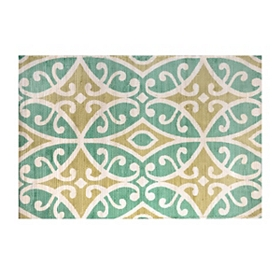 Lombardia Turquoise Scatter Rug