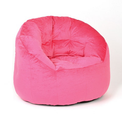Pink Bean Bag Lounger