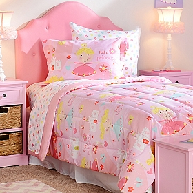Pretty Princess Twin Comforter Set, 5-pc.