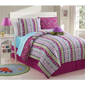 Khloe the Turtle Twin Comforter Set, 7-pc.
