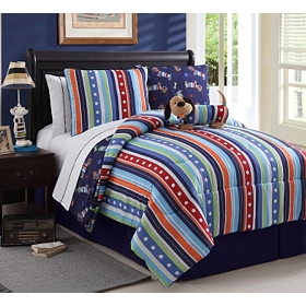 Leo the Dog Twin Comforter Set, 7-pc.