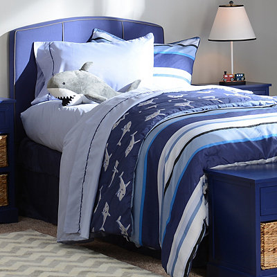 Shark Twin Comforter Set with Friend, 7-pc.